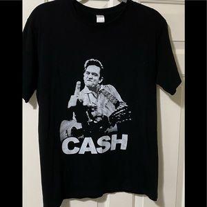 Johnny Cash band concert tour shirt L